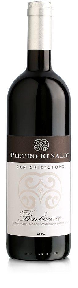 Barbaresco Docg San Cristoforo - Pietro Rinaldi